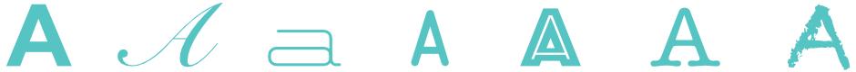 Webcom Marketing - Bild Schrifttypen