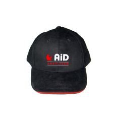 Webcom Marketing - Textilbestickung - Cap AiD Angelteam