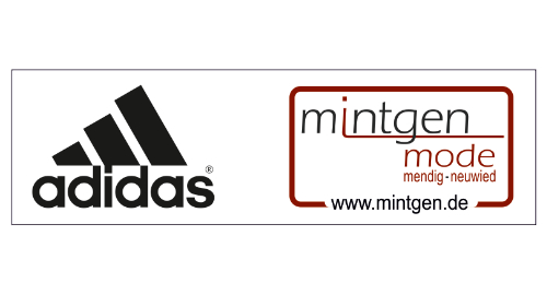 Webcom Marketing - Stadionbanner - Adidas Mintgen Mode - Folienbeschriftung
