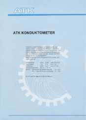Webcom Marketing - Druckprodukt - Produktblatt Rückseite Konduktometer ATK Aquarientechnik